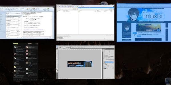 WindowsでMacの『Expose』を再現できる『Switcher』