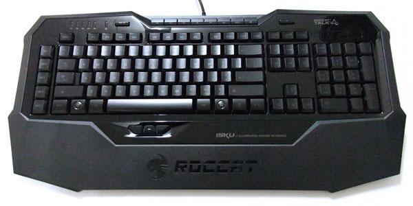 【レビュー】ゲーミングキーボード『ROCCAT Isku』(US配列版)