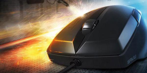 ROCCATの新しいマウス『ROCCAT Savu』が発表される