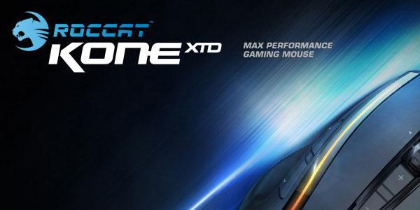 ROCCATが最上位モデルマウス『ROCCAT Kone XTD』を発表