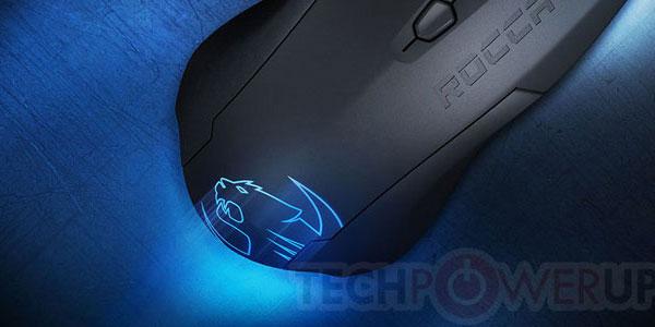 ROCCATが3ボタンマウス『ROCCAT Lua』を発表
