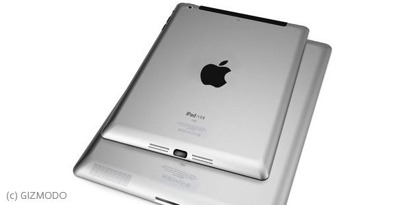 『iPhone5』と『新しいiPad』の名称から『iPad mini』登場の可能性は極めて高い