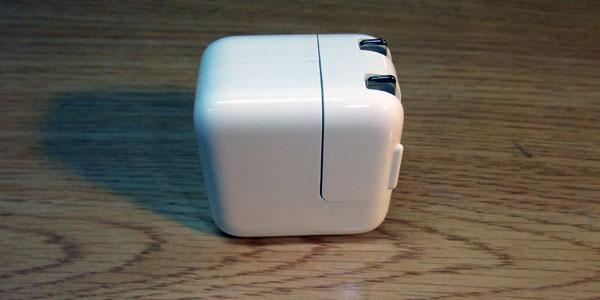 新しいiPad用電源アダプタでの『新しいiPad』のフル充電にかかる時間は5時間