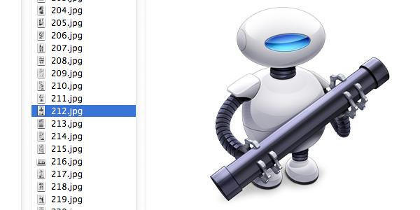 Macでリネームアプリを使わずに、『Automator』でサクッと名前を変更する方法