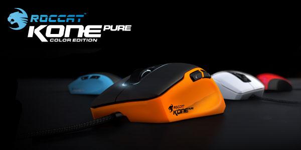 ROCCAT製品初となる『ROCCAT Kone Pure』のカラーモデルが登場