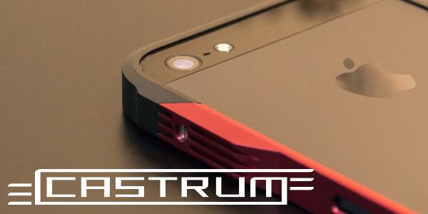 【レビュー】アルミニウム合金の格好良すぎるiPhoneバンパー『GRAVITY CASTRUM』