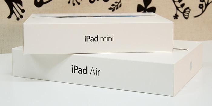【レビュー】購入迷っている人が多すぎるので『iPad mini Retina』と『iPad Air』両方買ってみました