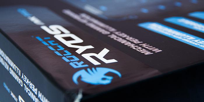 【レビュー】CPUを2つ搭載した最強のゲーミングキーボード『ROCCAT Ryos MK Pro』