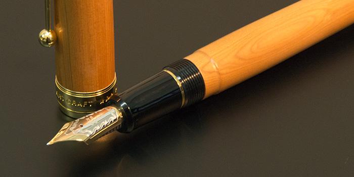 【レビュー】高級感、書き味共に最強の国産万年筆『PILOT カスタム 一位の木』