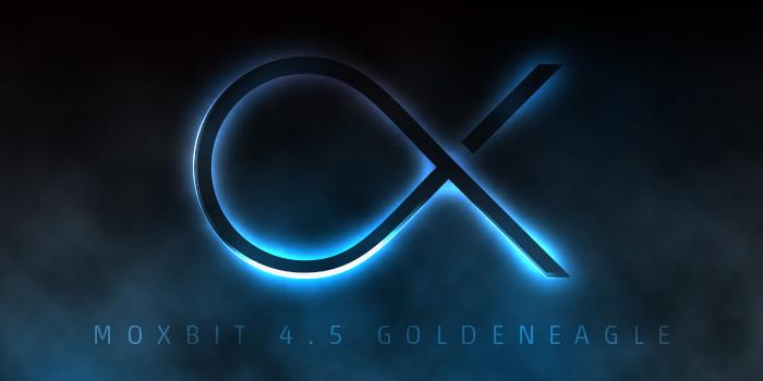 『Moxbit 4.5 GoldenEagle』へアップデート