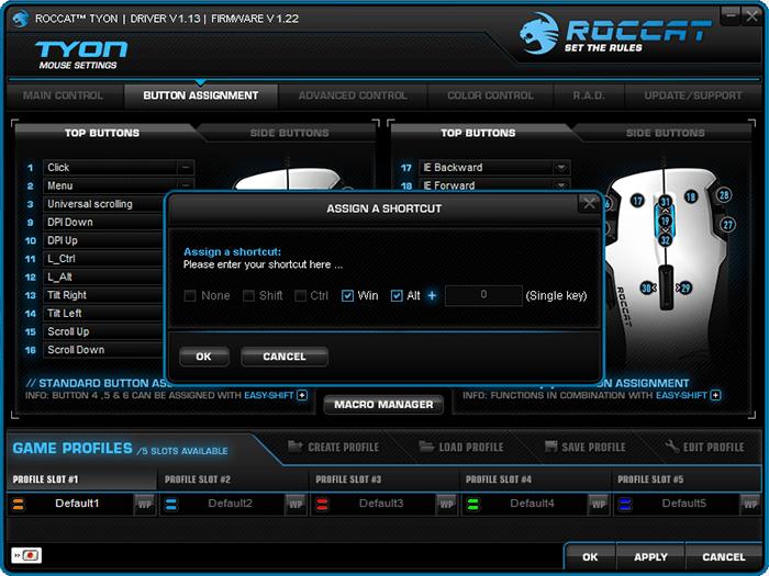 roccat-tyon-review-driver-buttons-top-shortcut