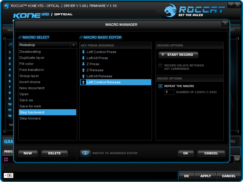 roccat-kone-xtd-opt-review-driver-button-assignment-macro-manager