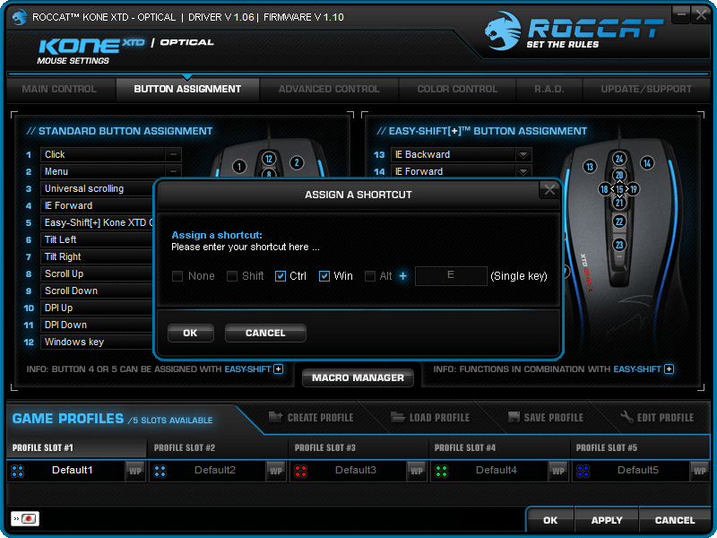 roccat-kone-xtd-opt-review-driver-button-assignment-shortcut