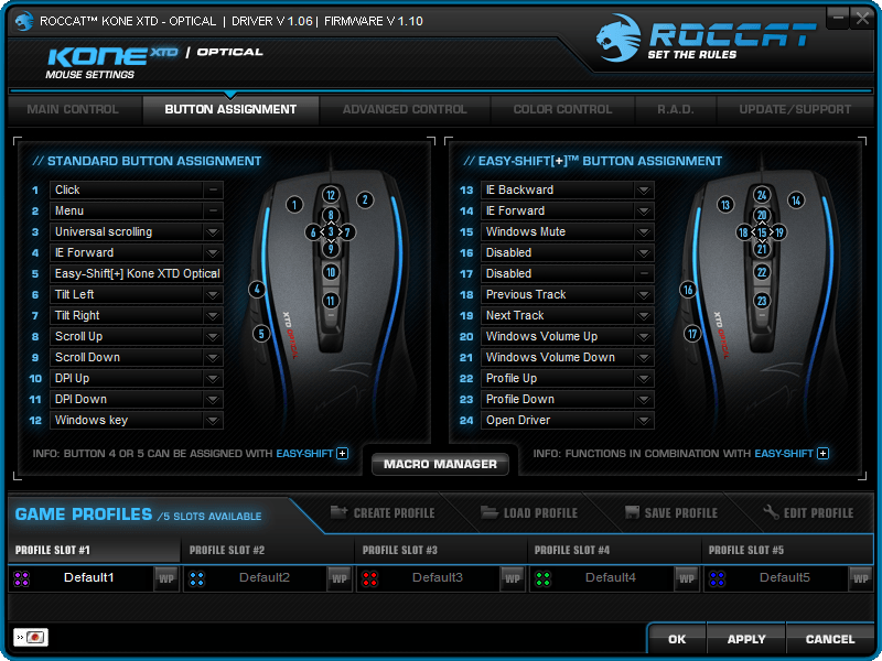 roccat-kone-xtd-opt-review-driver-button-assignment