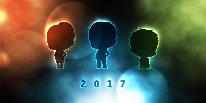 2017年到来!こ…今年こそ何かするんだからねっ!
