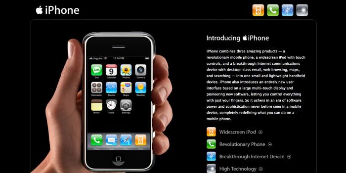 iPhone10周年なので、初代iPhone『iPhone』を振り返ってみる