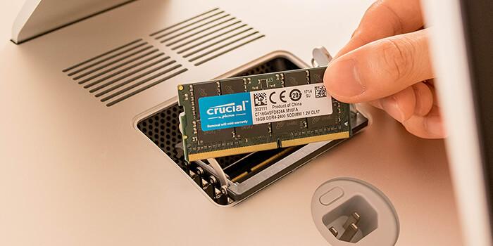 『iMac 2017』のメモリを脅威の 64GB へ!iMacメモリ増設方法まとめ